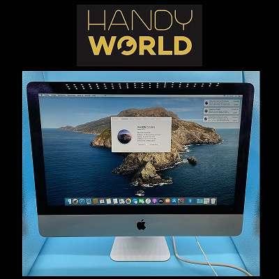 Apple iMac i5 - 21,5 Zoll - 256GB SSD - Late 2013