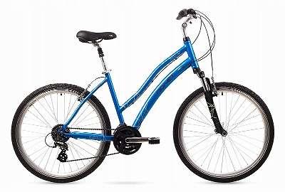 NEU! %Aktion% 26 Zoll ALU 18 L Fahrrad ROMET BELECO blau Crossbike! SHIMANO SCHALTUNG 24 GÄNGE!