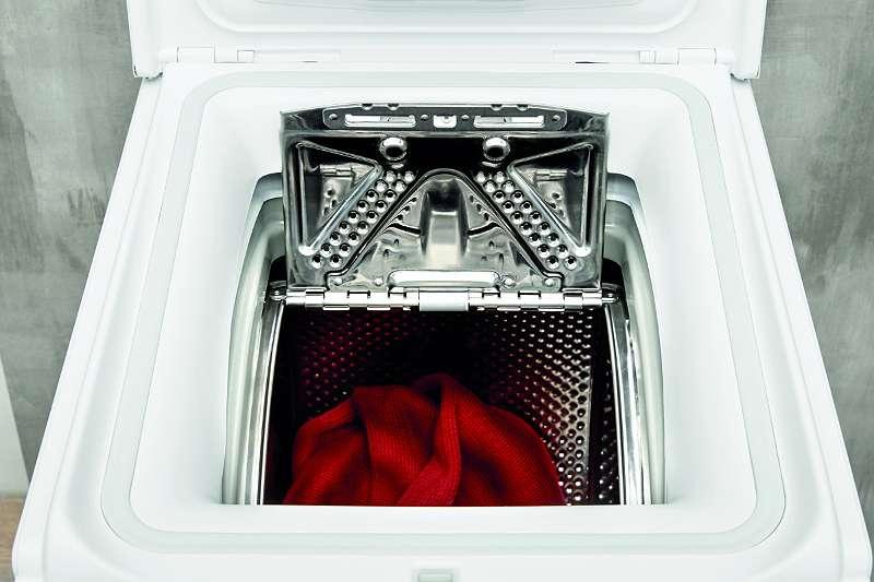 #Leo4u 6 kg Toplader-Waschmaschine Turn&Go - wäscht Baumwolle und Synthetik mit nur einem Handgriff bei 30 °C in 45 Minuten PWT D61253P N (DE) Privileg 04635.,