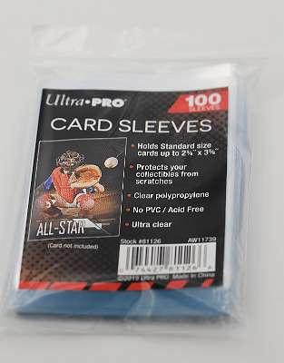 Kartenhüllen/ Card Sleeves ca. 6,7 cm x 9,2 cm, Schutz für Sammlerkarten, TCG Pokemon Karten etc.