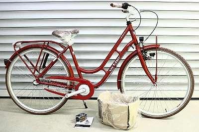 Fahrrad Ortler Copenhagen 7-Gang Damen candy red
