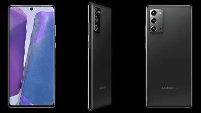 Samsung NOTE 20 256Gb N980F/ DS Grau NEU bzw. WIE NEU / Austellungstück / Werksoffen / OVP