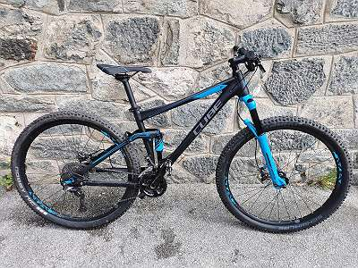 Fully Mountainbike Cube Stereo 120