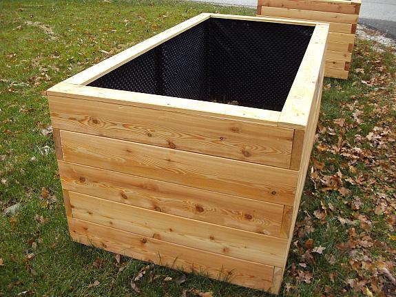 hochbeet aus ober sterreich lisa 100x200 35mm dicke l rchenpfosten direkt vom s gewerk. Black Bedroom Furniture Sets. Home Design Ideas