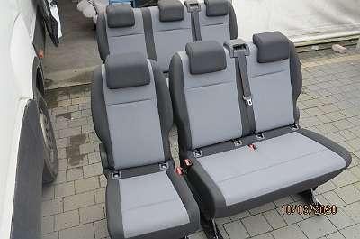 Fiat Scudo Expert Jumpy proace Traveller spacetourer 2+1 Sitzbank bank Sitz