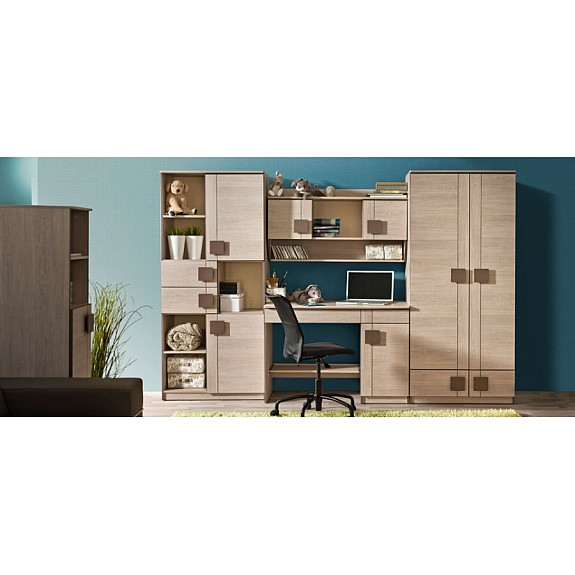 domino system a komplettes jugendzimmer f r m dchen und. Black Bedroom Furniture Sets. Home Design Ideas