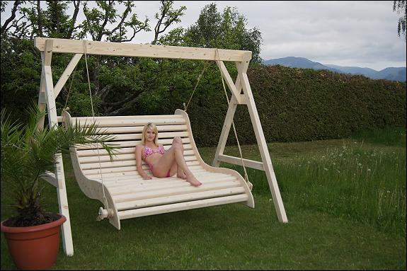Hollywoodschaukel luxus  Luxus Hollywoodschaukel ! (Gartenmöbel, Rattangarnitur ...