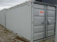 Grey Lagercontainer 20' RAL 7035 - hellgrau