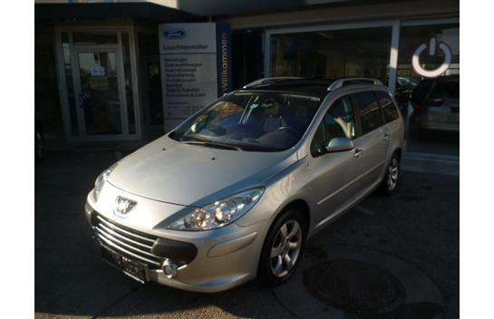 peugeot 307 sw active 1 6 hdi 110 fap kombi family van 2007 km willhaben. Black Bedroom Furniture Sets. Home Design Ideas