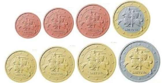 Euromünzen Aus Litauen 2015 Kms Und Starterkit 699 4722