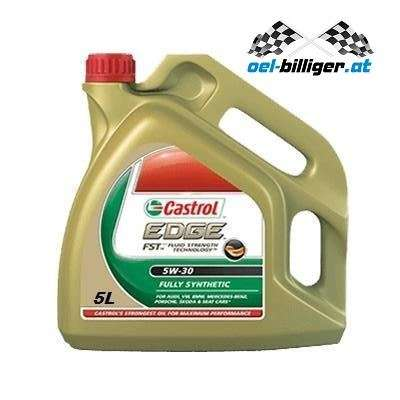 5l castrol edge 5w30 ll mit fluid strength technology. Black Bedroom Furniture Sets. Home Design Ideas