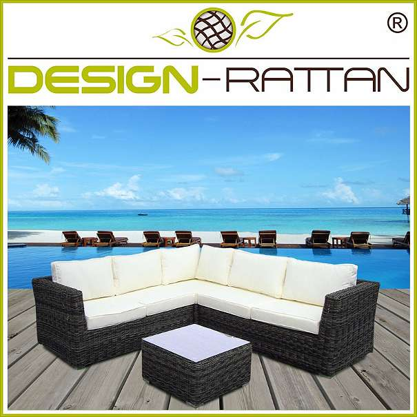 rattanlounge besuki bali exklusiv 220x220cm rundrattan by design rattan 1010. Black Bedroom Furniture Sets. Home Design Ideas
