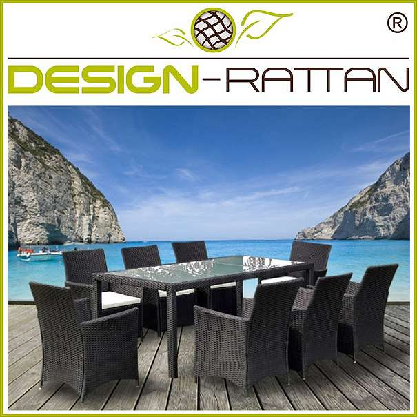 rattan essgruppe genova xl 190x90cm 8 sessel 1 tisch 699 1010 wien willhaben. Black Bedroom Furniture Sets. Home Design Ideas