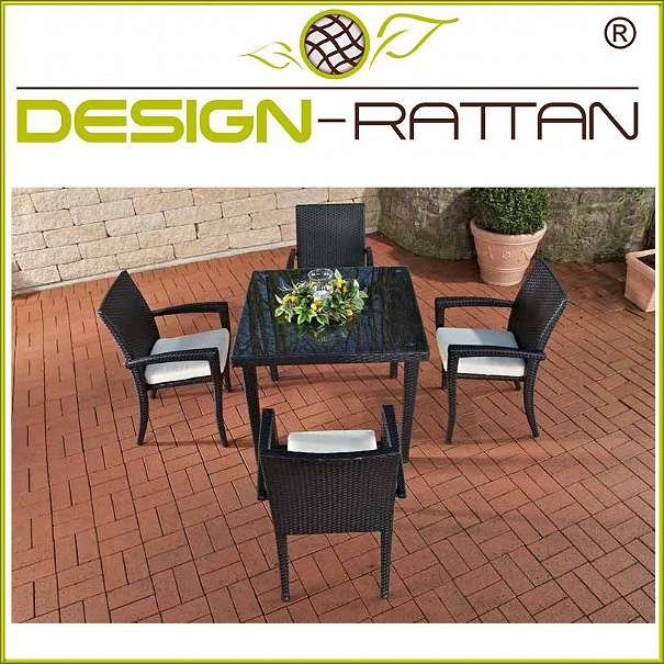 rattan tischgruppe turin 80 x 80 cm tisch 4 st hle 3 farben 659 1010 wien willhaben. Black Bedroom Furniture Sets. Home Design Ideas