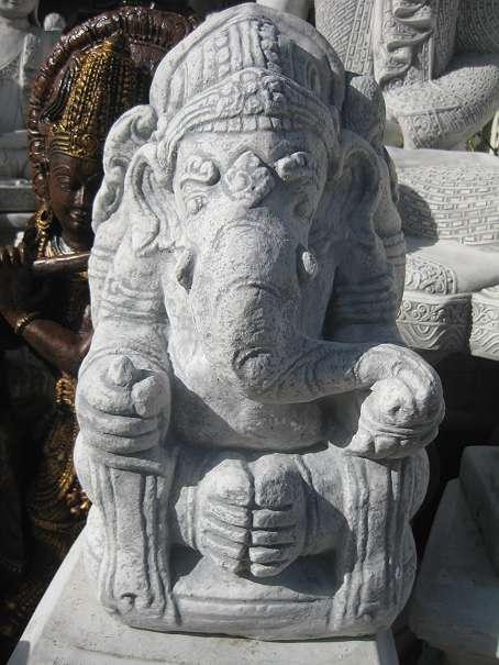Neues Modell Buddha Steinfigur 87 Cm Hoch Meditation