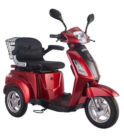 Seniorenmobil Elektromobil Elektrisches Fahrrad