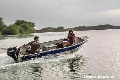 Aluboot Aluminiumboot Alu Boot Angelboot Ruderboot Motorboot Marine 400 Fish 400Fish Fuchs Boote
