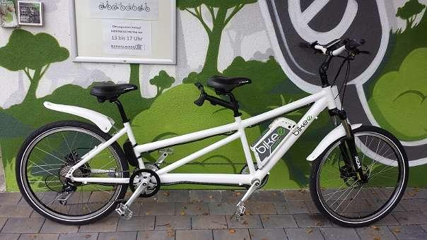 bikee tandem ebike 500 watt 8424 gabersdorf. Black Bedroom Furniture Sets. Home Design Ideas