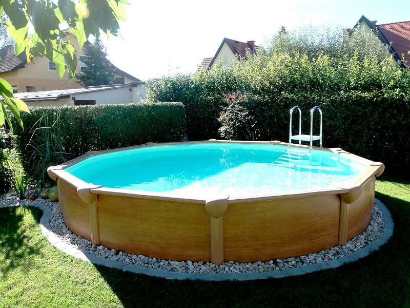 Berühmt Steirerbecken Pool Premium All Inklusive rund oder oval JL47