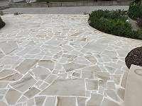 ! AKTION verlängert bis 18.01. ! Polygonalplatten - Sandstein hell- Naturstein