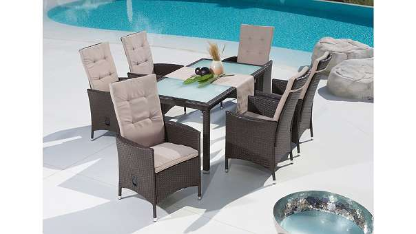 13tlg gartenm belset madeira poly rattan gartenm bel 632451 399 4882 oberwang willhaben. Black Bedroom Furniture Sets. Home Design Ideas