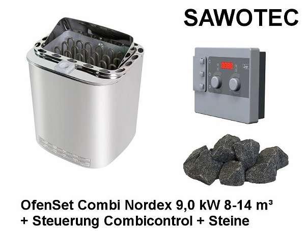 sawotec ofenset combi nordex 9 0 kw steuerung combicontrol steine 8 14m 538 4861. Black Bedroom Furniture Sets. Home Design Ideas