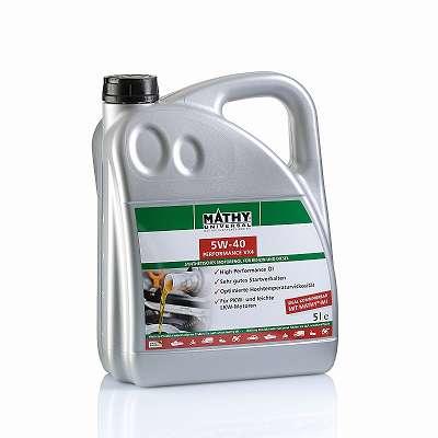 SAE 5W-40 Performance VX4 - Synthetisches HC-Motorenöl