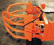 AGROMET BALLENZANGE RUNDBALLENZANGE - ZANGE fur Frontlader mit HAUER Aufnahme 0,80m - 1.80m / 1300kg Last!