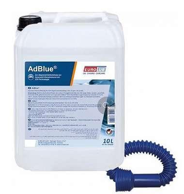 EUROLUB AdBlue® Harnstofflösung 10l mit GRATIS VERSAND! (1L= 0,99?)