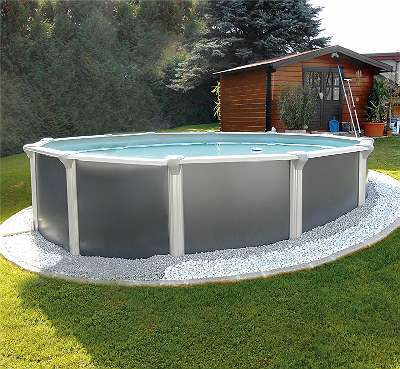 Steirerbecken Pools Design rund