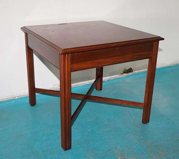 Tisch beistelltisch couchtisch dunkelbraun 35 1080 for Couchtisch dunkelbraun
