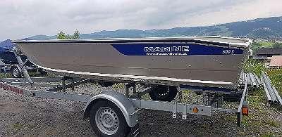 500S Aluboot Aluminiumboot Marine Boote Fischerboot Angelboot Ruderboot Fuchs-Boote