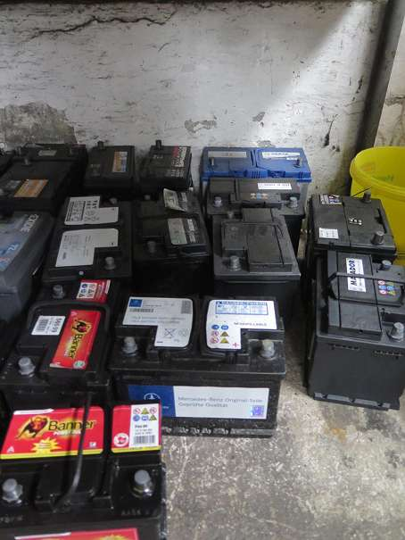 PKW Starterbatterien verschiedene gebraucht
