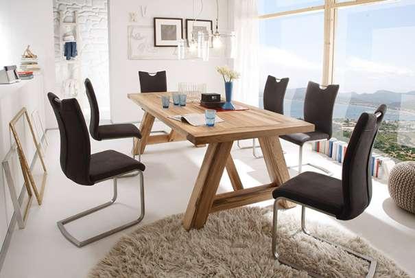 Tisch Esstisch Massivholz Esstisch Esszimmer Holztisch Küchentisch ...