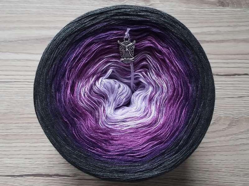 Farbverlaufsgarn Bobbel Wolle Zum Häkeln Und Stricken 14