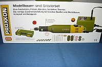 PROXXON Modellbauer-und Gravierset