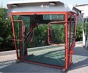 Kabine für verschiedene Mähdrescher Deutz Fahr 750-1202 Kabinen Traktorkabine
