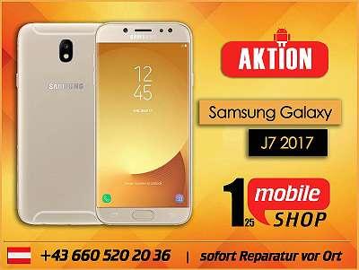 Samsung Galaxy J7 2017 - NEUWERTIG - 6 Monate Garantie - Werksoffen - #Schwarz