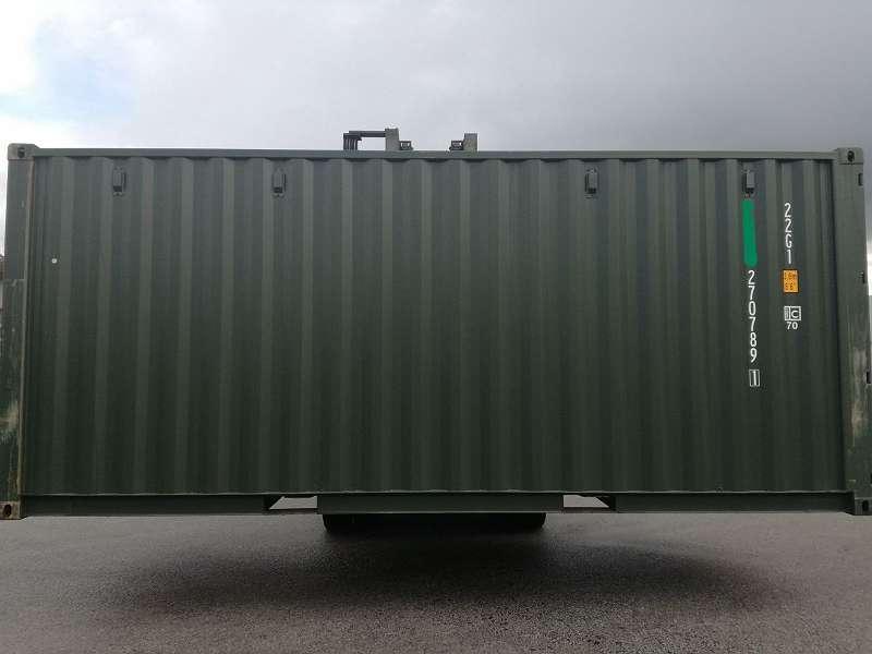 Container Seecontainer Lagercontainer Mit Einhandverschluss
