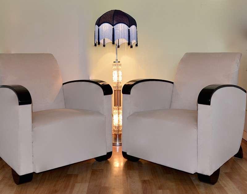 Art Deco Fauteuil.2 Original Art Deco Fauteuils Extrem Stylish