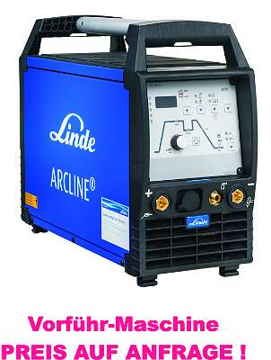 WIG Schweißgerät, Linde ARCLINE® TSL 200 puls AC/ DC, Stahl, Edelstahl, Aluminium