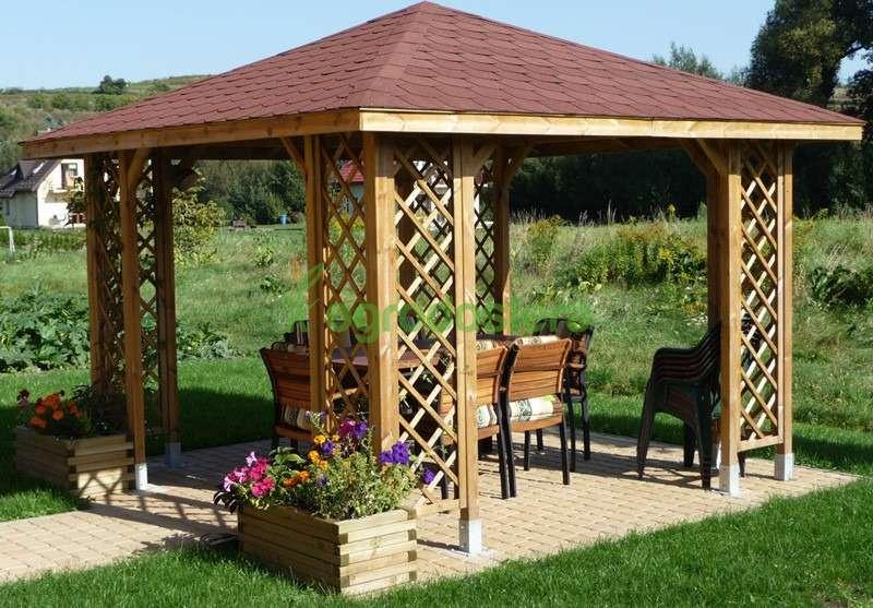 Hervorragend Garten Pavillon 9 m2 Holzpavillon TOP PREIS, € 998,- (2460 Bruck KU75
