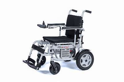 faltbarer Elektro-Rollstuhl FreedomChair T3, seitlich faltbar