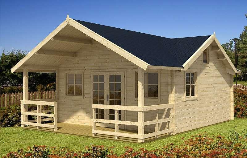 gartenhaus blockhaus aus holz freizeithaus ferienhaus 38667 deutschland willhaben