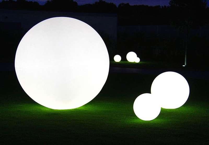 Leuchtkugel Garten Wasserfeste Outdoor Kugelleuchten 132 9020