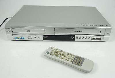 GPX VCD 9040 DivX-Y 6-HEAD VHS VIDEORECORDER / DVD PLAYER + FERNBEDIENUNG KOMBIGERÄT
