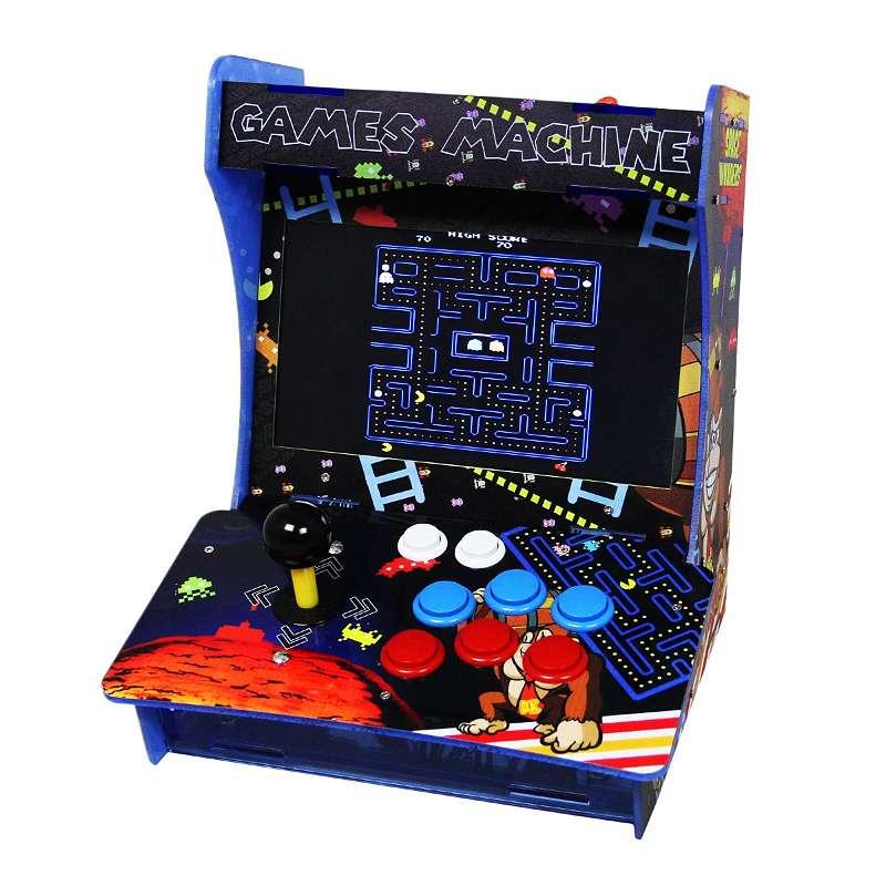 Retro Arcade Games Maschine Arcade Tisch Spielautomat Spielkonsole Retro-Spielautomat Videospielmaschine Videogame-Automat Video Spiele 25232