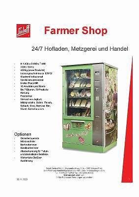 Automat für AbHofVerkauf 24/7 ab 8.000 EUR