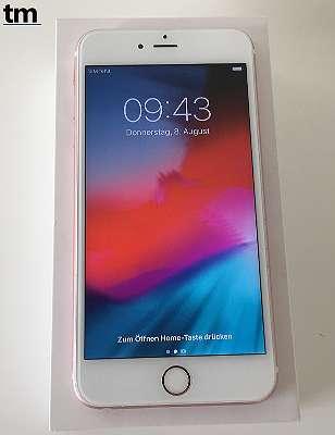 Apple iPhone 6S PLUS 16GB - Rose Gold - offen für alle Netze (kein sim lock) - 4K Video - 12MP HDR Fotokamera - ios13 - mit Rechnung & Gewährleistung - sofort verfügbar