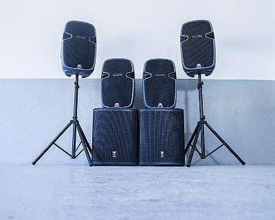 JBL PA-Sound-Anlage zu verkaufen- JBL PRX 815S Aktiv Subwoofer (1STK) + JBL EON 315 Aktiv (2STK) - mit Rechnung und Gewährleistung